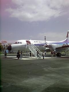 佐賀空港のYS