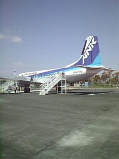 佐賀空港にあるYS