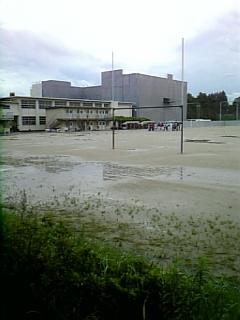 新校舎の工事