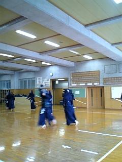 K高校の剣道場