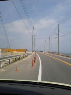 志賀島から