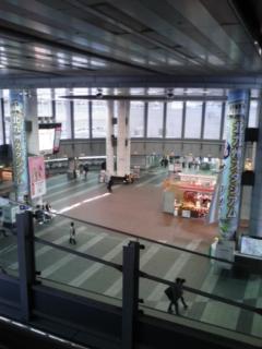 小倉駅で…