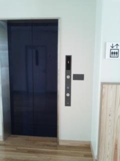 エレベーターがありました