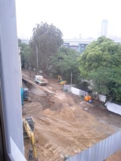 旧校舎の解体