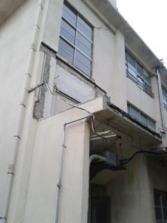 旧校舎の…