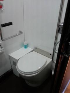 特急ゆふのトイレ