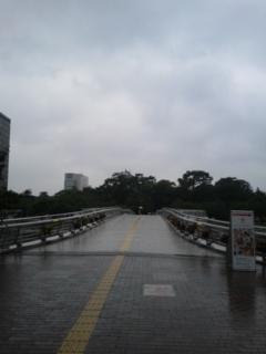 小倉城に向かうところ