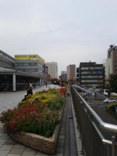 小倉駅の新幹線側