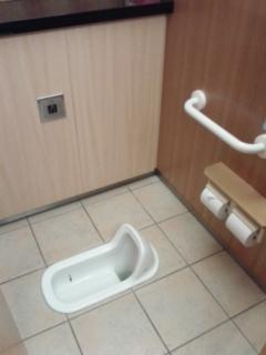 博物館のトイレ