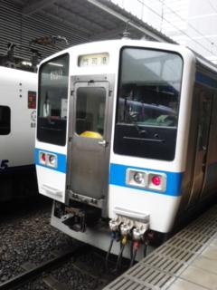 博多駅にて…