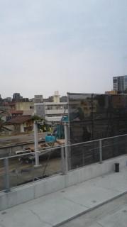 折尾駅のホーム