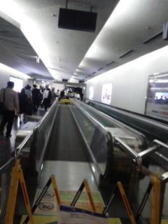 今日は福岡空港へ