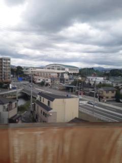 新幹線で…